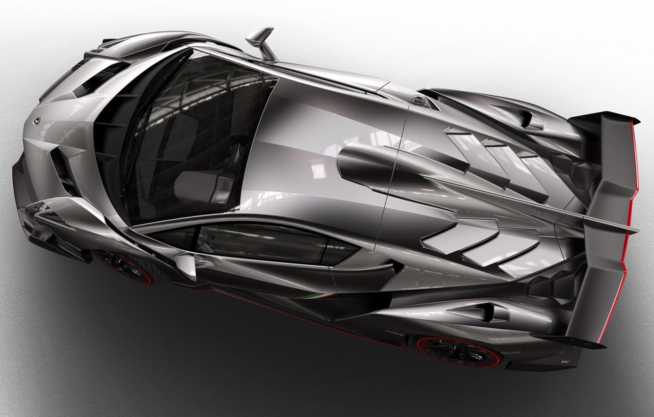 Photo wallpaper Lamborghini, supercar, Veneno