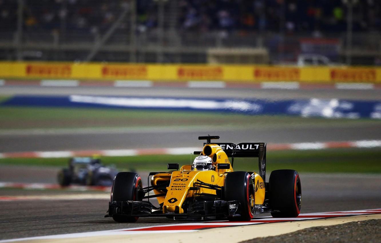 Wallpaper Renault Formula 1 Team The Front Kevin