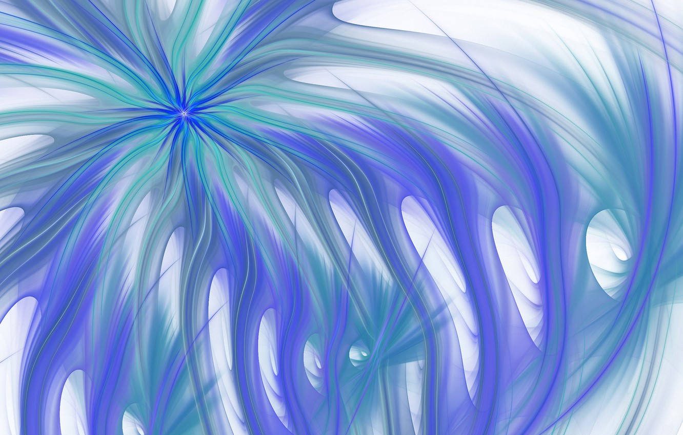 Photo wallpaper rays, line, pattern, color