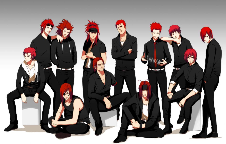Photo wallpaper card, anime, art, naruto, headband, guys, naruto, bleach, final fantasy, reno, badou nails, hunter x …