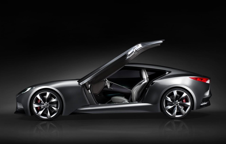 Photo wallpaper Concept, the concept car, Hyundai, Hyundai, HND-9