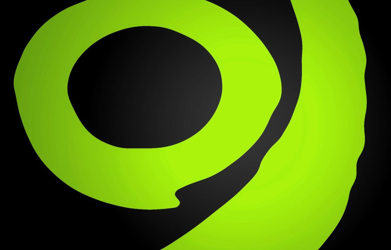 Wallpaper Green Round Green Xbox Images For Desktop Section Raznoe Download