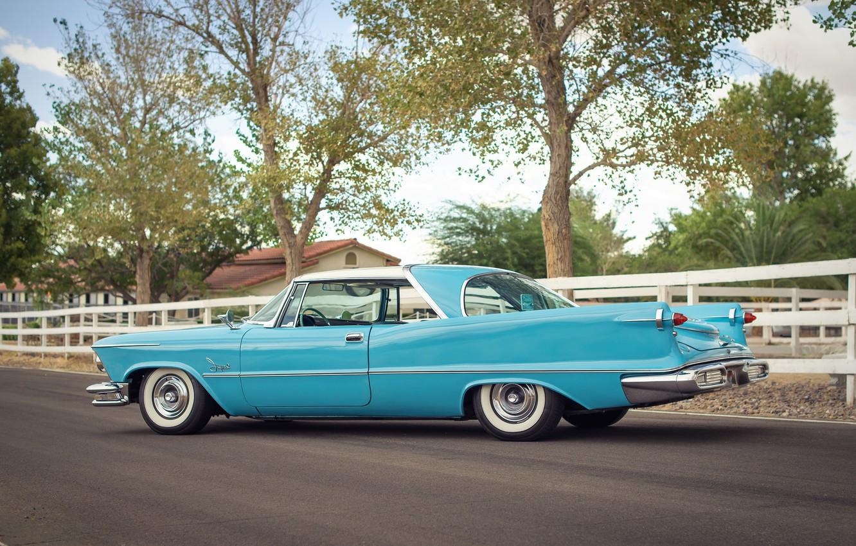 Photo wallpaper retro, Imperial, Chrysler, classic, 1957