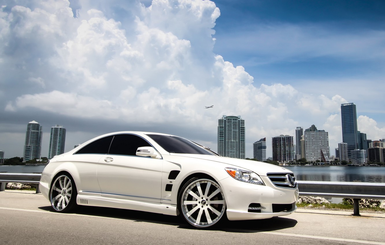 Photo wallpaper tuning, coupe, Mercedes, Mercedes-Benz CL