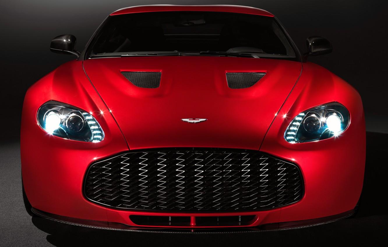 Photo wallpaper Aston Martin, Red, Machine, Machine, Red, Car, Car, Cars, Before, V12, Aston Martin, Cars, Zagato, …