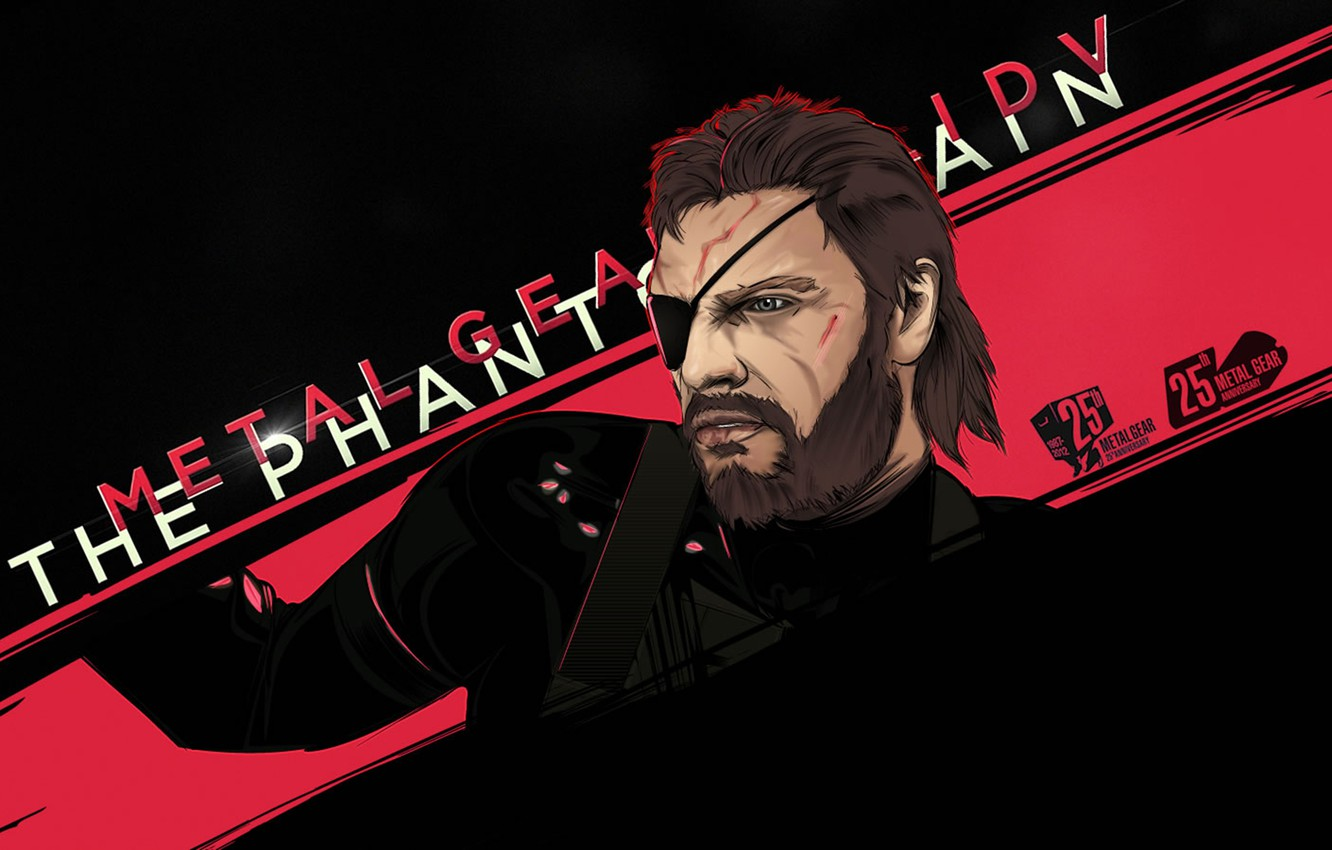 Wallpaper Metal Gear Solid Fan Art Mgs Big Boss Kojima