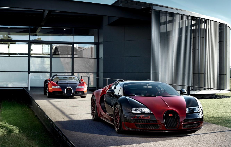Photo wallpaper supercar, Bugatti Veyron, Grand Sport, Vitesse, hypercar, The Final