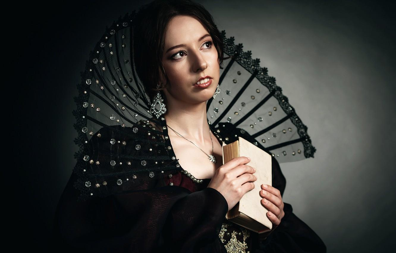 Photo wallpaper girl, portrait, art, renaissance