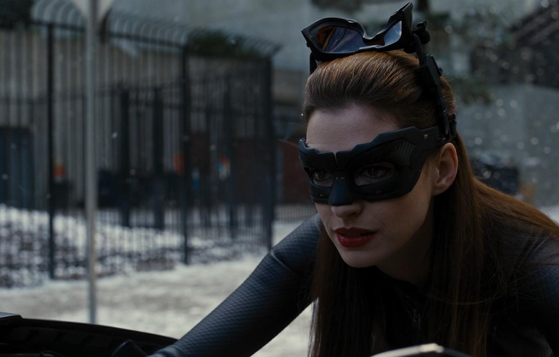 Wallpaper Batman Anne Hathaway Batman The Dark Knight