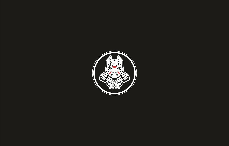 Wallpaper Black Grunge Mask Pit Bull Images For Desktop Section Minimalizm Download