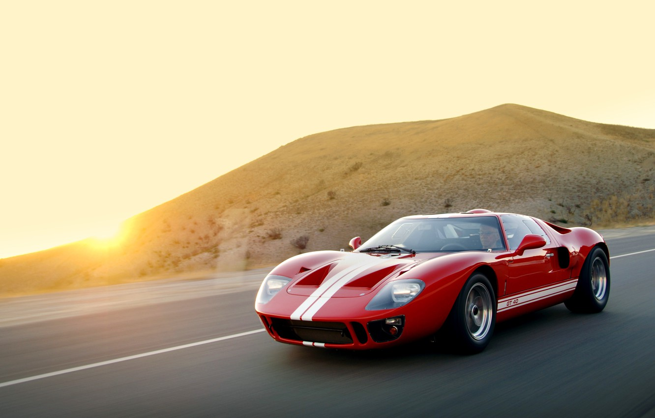 Photo wallpaper Ford, Ford, 2007, GT40, Superformance, MkI