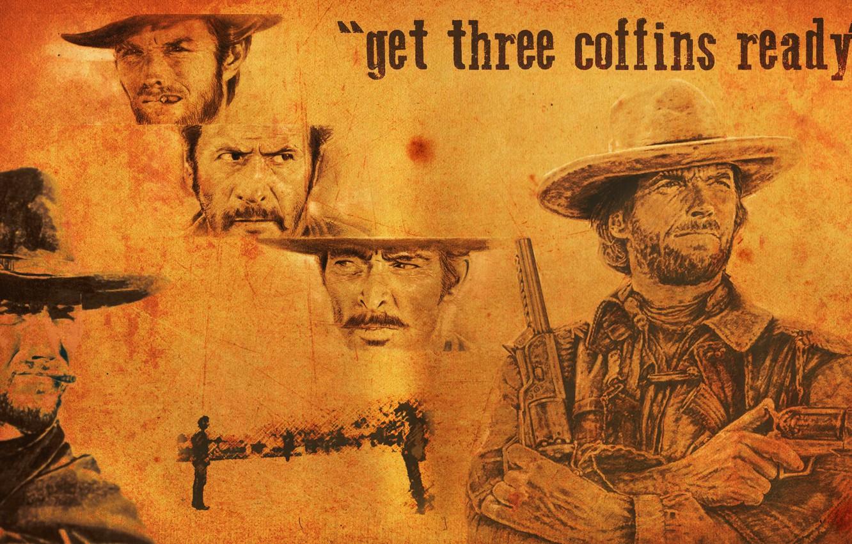 Wallpaper Evil Western Bad Clint Eastwood Good Clinton