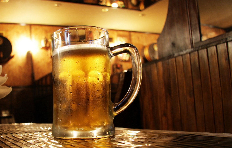 Wallpaper Bar Beer Table Mug Pint Images For Desktop