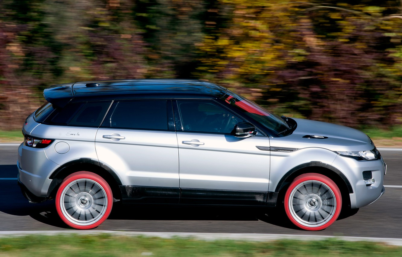 Photo wallpaper auto, view, SUV, Land Rover, Range Rover, side, Evoque, Marangoni, HFI-R