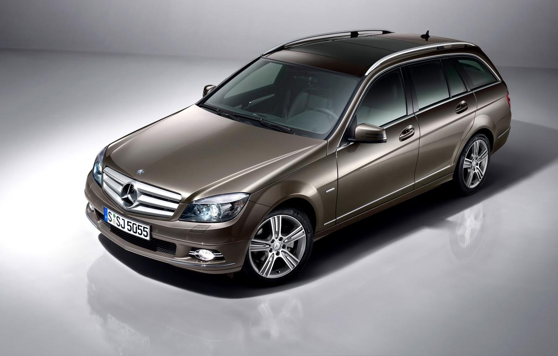Photo wallpaper Mercedes-Benz, Mercedes, universal, C-Class, S204