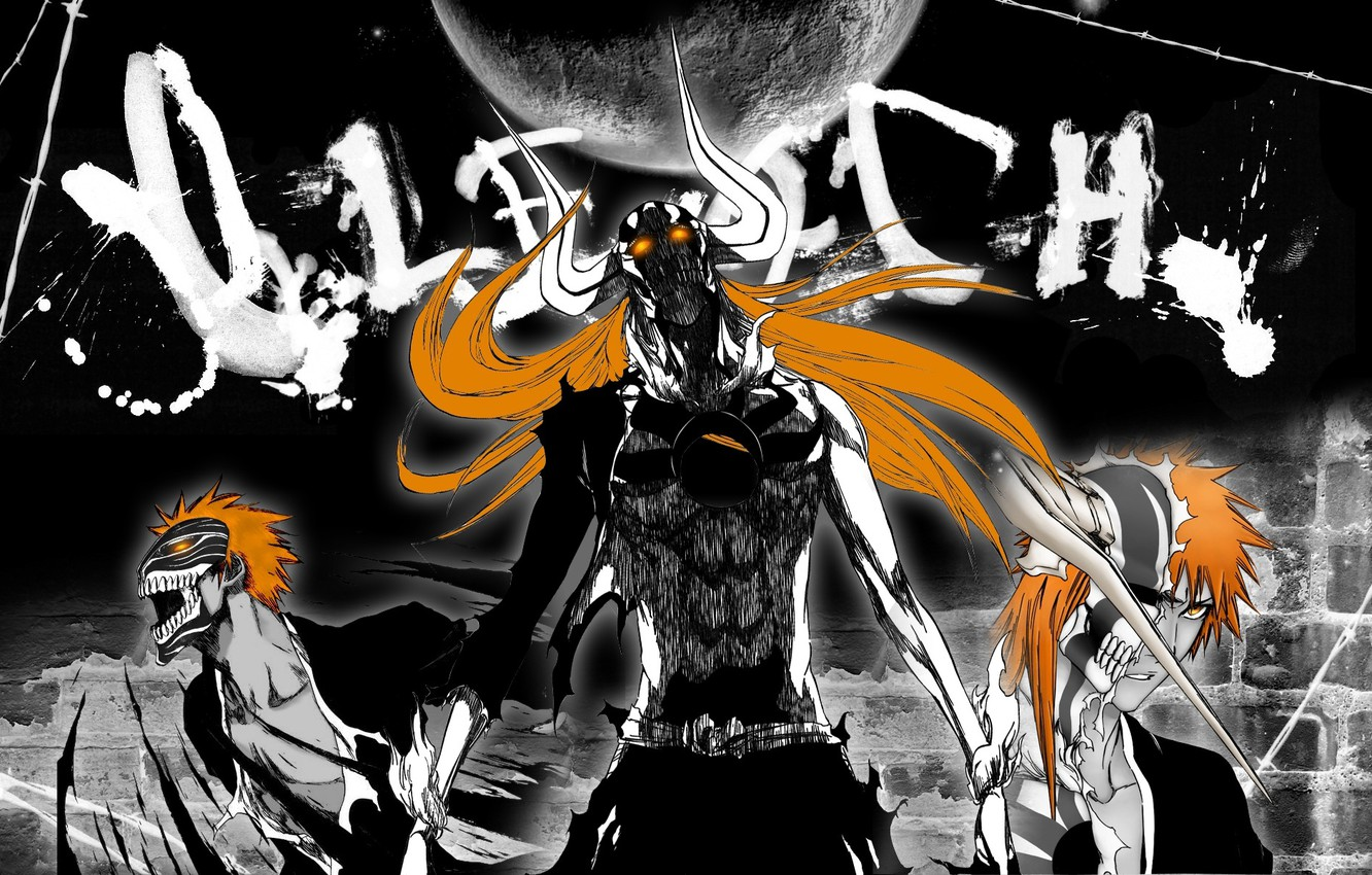 Photo wallpaper anime, bleach, the form is blank