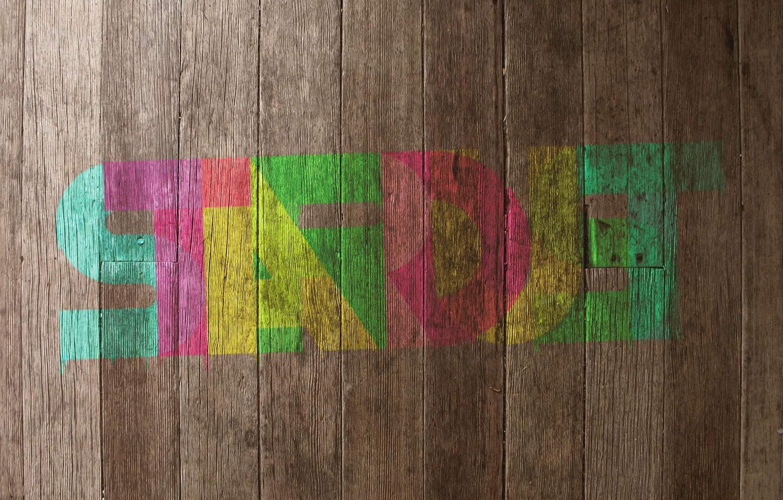 Photo wallpaper style, color printouts