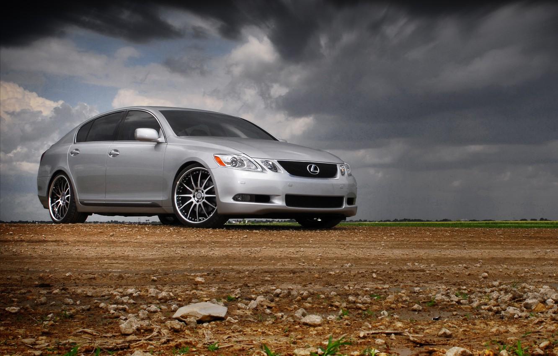 Photo wallpaper desert, Lexus