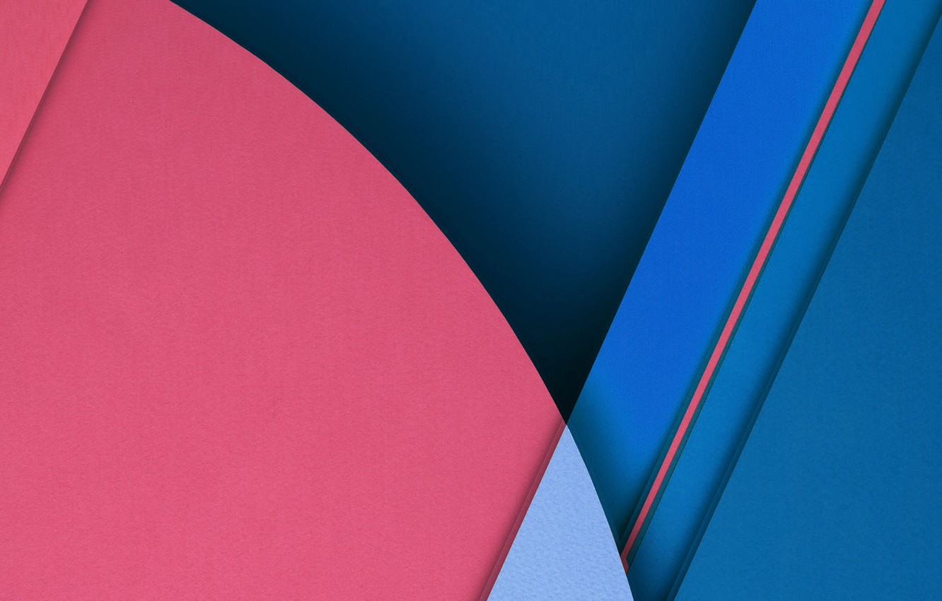 Photo wallpaper line, blue, red, pink, Android, oval
