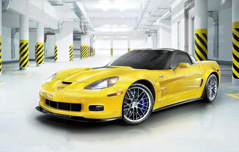 Photo wallpaper Corvette, Chevrolet