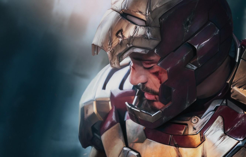 Wallpaper Superhero Art Tony Stark Tony Stark Iron Man 3 Iron