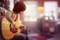 Picture guitar, Life is Strange, Max Caulfield, Max Caulfield