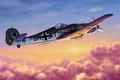 Picture ww2, focke wulf, second world war, german fighter, art, fw 190, german aircraft, war