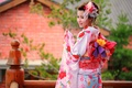 Picture style, summer, face, kimono, clothing