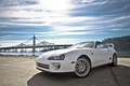 Picture two-door sports car, background, drives, tuning, white, car, Toyota