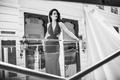 Picture dress, Eva Green, Eva Green, actress, black and white