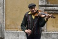 Picture people, violin, music, street