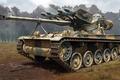 Picture figure, ATGM, AMX-13, ATGM, French light tank, SS-11