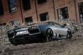 Picture black, Lamborghini, Reventon, the ruins