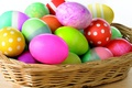 Picture Easter, basket, eggs, paint, spring