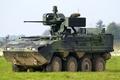 Picture armored, multipurpose, machine, wheel, Pandur II, combat