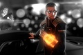 Picture auto, glasses, shepard, Mass Effect, turian, The Omni-tool