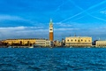 Picture Palace, Italy, Venice, channel, Campanile, Doge, the bell tower of St. Mark's Cathedral