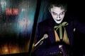 Picture Joker, look, background, microphone
