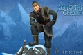Picture snow, mountains, cartoon, ice, male, Frozen, rope, blonde, disney, cold heart, Kristoff