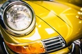 Picture Porsche, 911T, yellow, the front