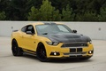Picture auto, yellow, Mustang, Ford, Shelby, Shelby, the front, muscle