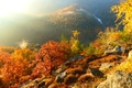 Picture river, autumn, mountains, nature