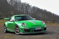 Picture clouds, green, clouds, forest, trees, rs 4.0, tree, Porsche, gt3, Porsche, green, 911, the sky, ...