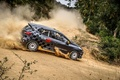 Picture renault, rally, rally, trees, Clio, renault sport, clio, r3t, Reno, dust, skid, slip