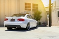 Picture 328i, MRR Wheels, rearside, E92, BMW, white