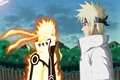 Picture trees, nature, magic, anime, father, art, naruto, naruto, namikaze minato, son, Uzumaki naruto, naruto999-by-roker