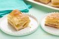 Picture food, pie, plates, cream, sweet