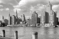 Picture retro, river, home, New York, USA, Manhattan, 1931-the year