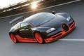 Picture Super Sport, Bugatti, Super Sport, the sun, Bugatti Veyron, 16.4, track