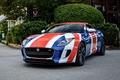 Picture coupe, type, Jaguar, Union Jack